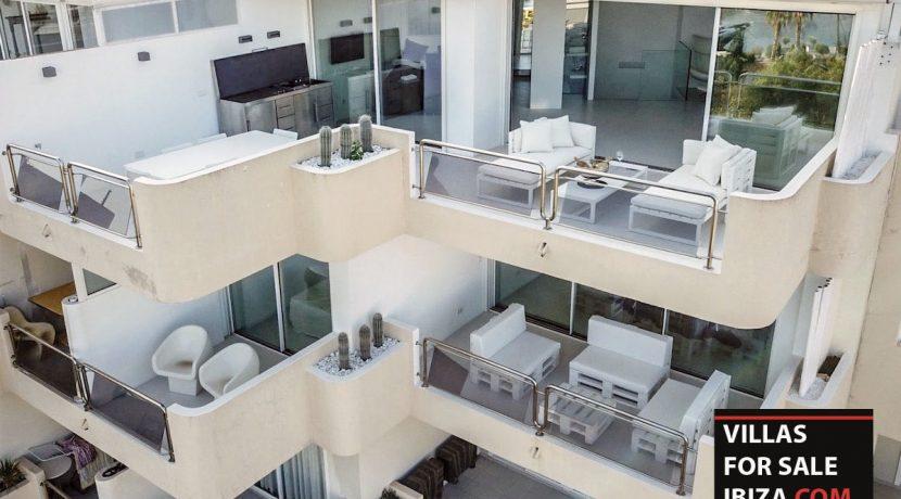 Villas for sale ibiza Penthouse White Dream
