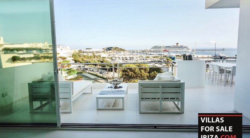 Villas for sale ibiza Penthouse White Dream