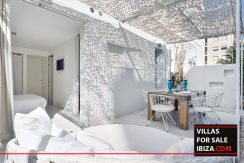 Villas for sale ibiza - Patio Blanco Garden 22