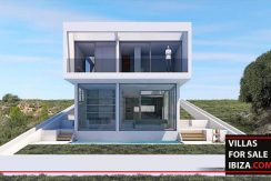 Villas for sale Ibiza - Villa Terrassa Torres, new build, villa ibiza, new construction ibiza, ibiza real estate