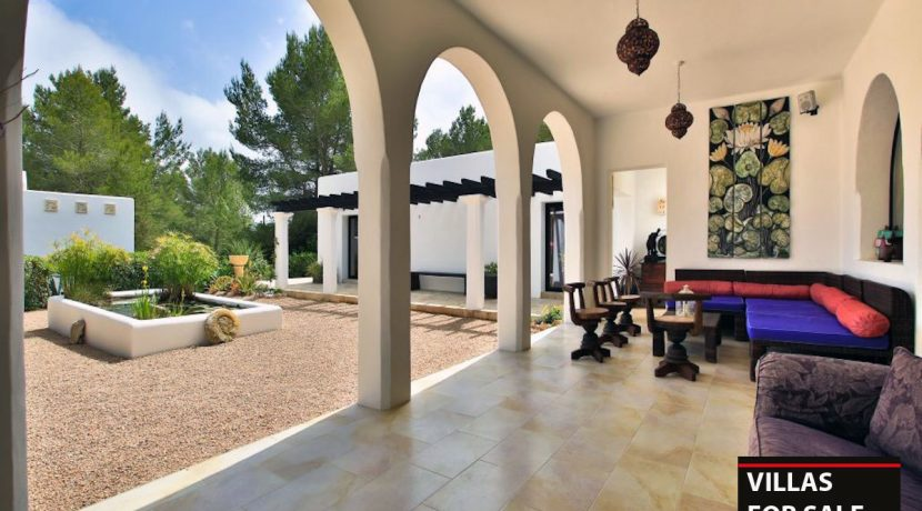 Villas for sale Ibiza Finca Blackstad with license 11