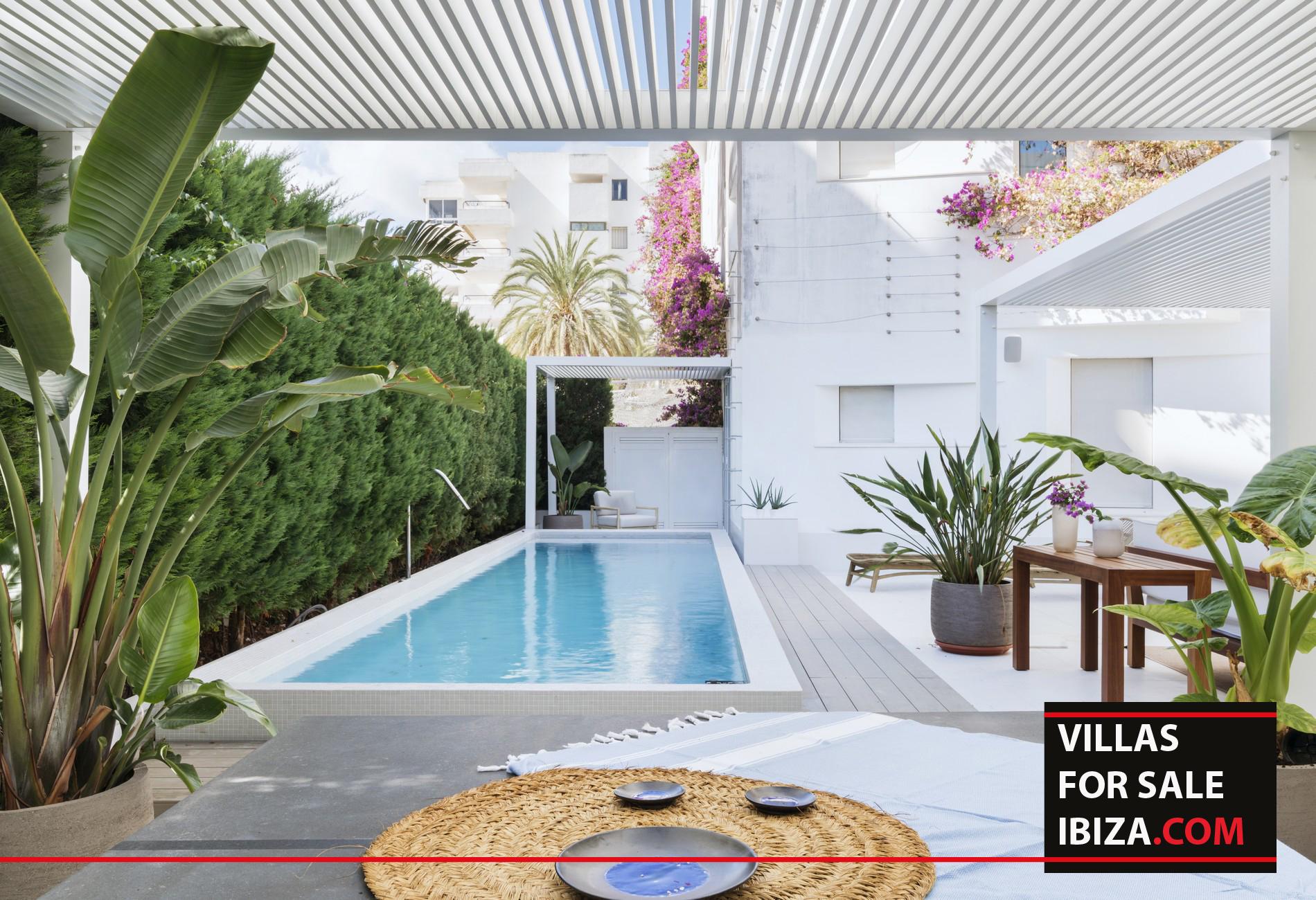 Patio Blanco Destino with private pool, ibiza real estate, ibiza estates